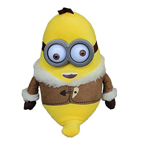 Banana Bob Minions Movie Plush Doll 11 ,3d Eyes Bob Eskimo Minion @  NiftyWareHouse