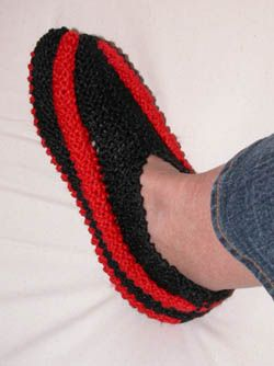modele de pantoufle gratuit