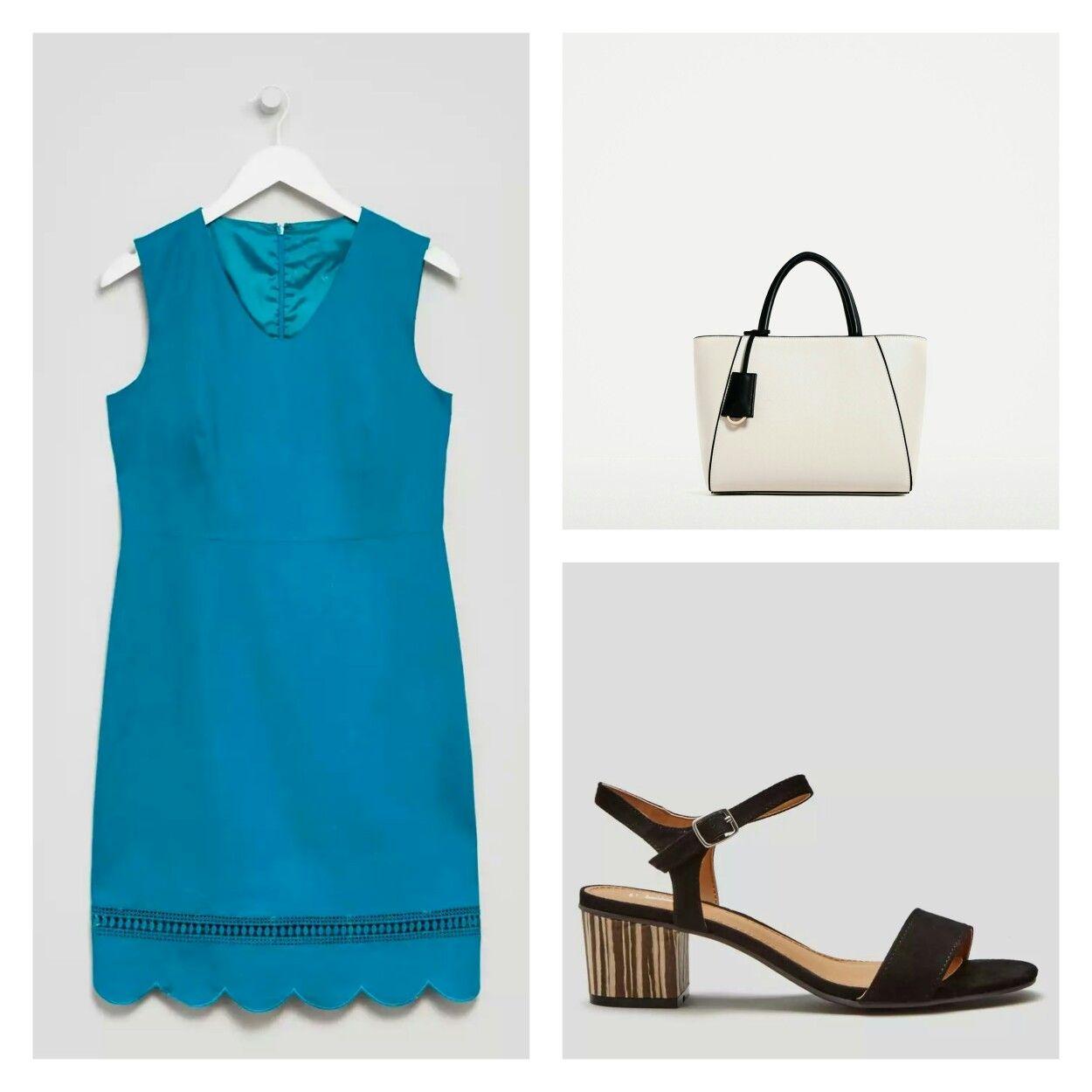 Dress Matalan, Sandals Matalan, Bag Zara | clothes | Pinterest ...