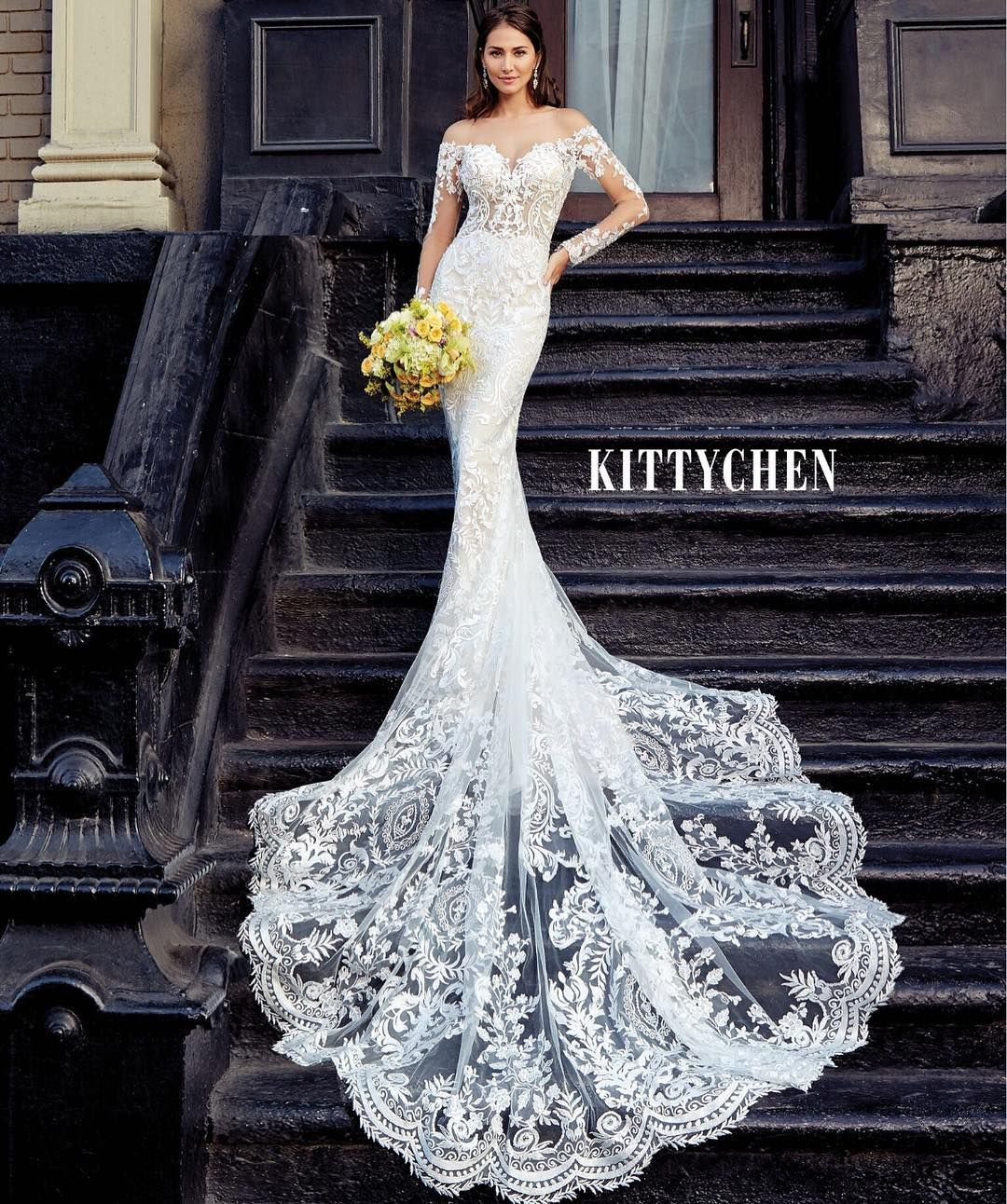 Funky Wedding Gowns: Wedding Dress / Bridal Gown By Kitty Chen Couture