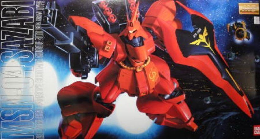#Gundam #Gunpla  MG MSN-04 Sazabi