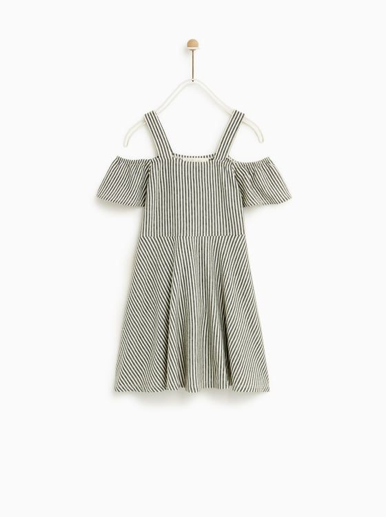 4c09b7c558e VESTIDO RAYAS | w18-19 dresses b | Dresses kids girl, Striped dress ...