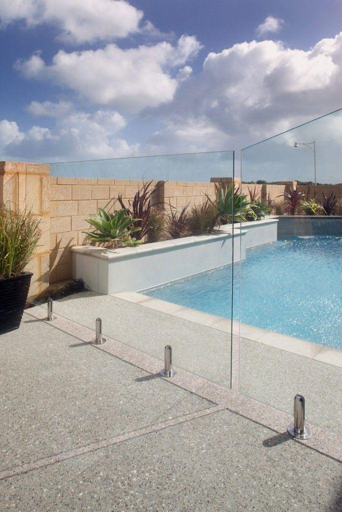 Stylish Pool Fence Ideas inground DIY safety privacy
