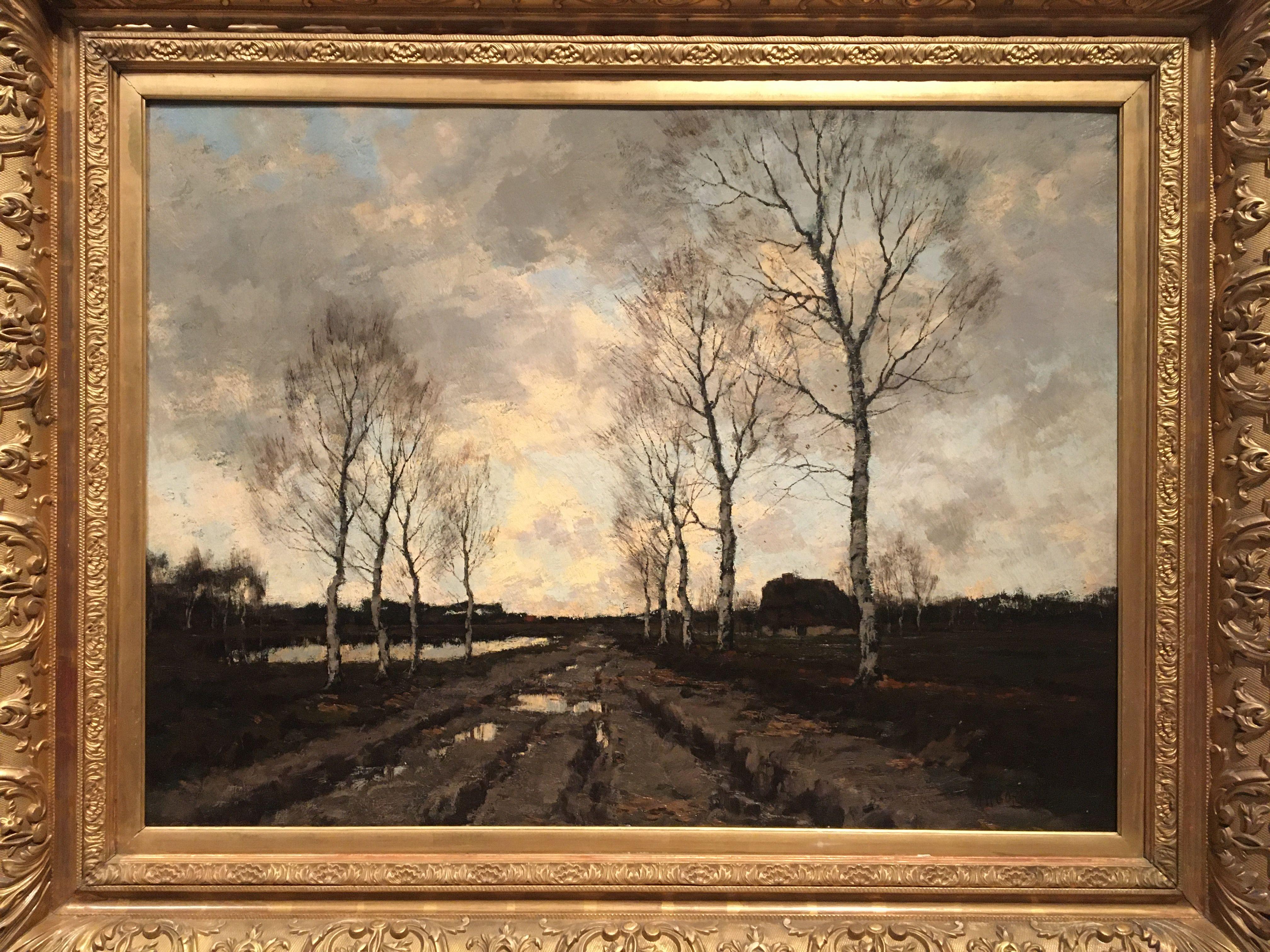 Arnold Marc Gorter 1900 Dorp In Drenthe Tentoonstelling Barbizon Van Het Noorden In Drents Museum In Assen In 2020 Museum Tentoonstelling Dorp