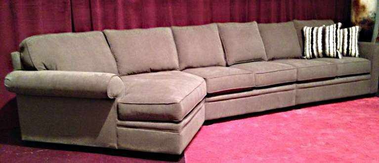Extra Long Reclining Sofa Long Couch Grey Sectional Sofa Sectional Sofa With Chaise