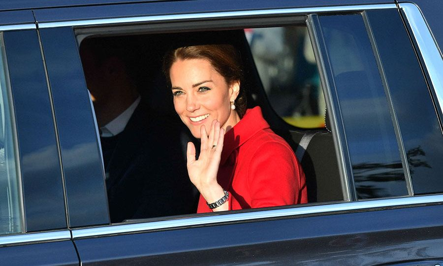 Prince William and Kate have some fun at a Whitehorse street party on day five of their tour