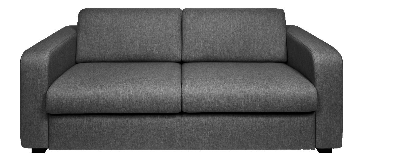 Porto 3 Canape 2 Places Convertible En Tissu Gris Tissu Gris Canape Lit 2 Places Coussin Colore