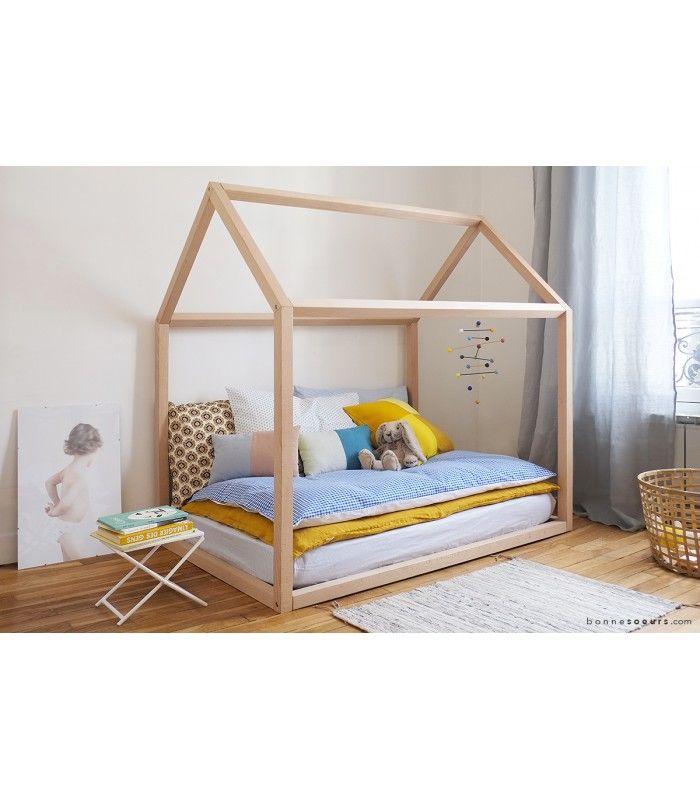 Estructura cama casa hacer pinterest camas juegos - La casa del sofa cama ...