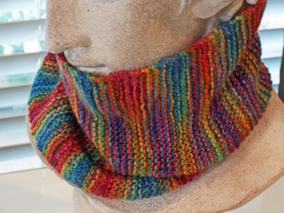 Knitted Merino Cowl Scarf by wildabouttags on Etsy, $36.00