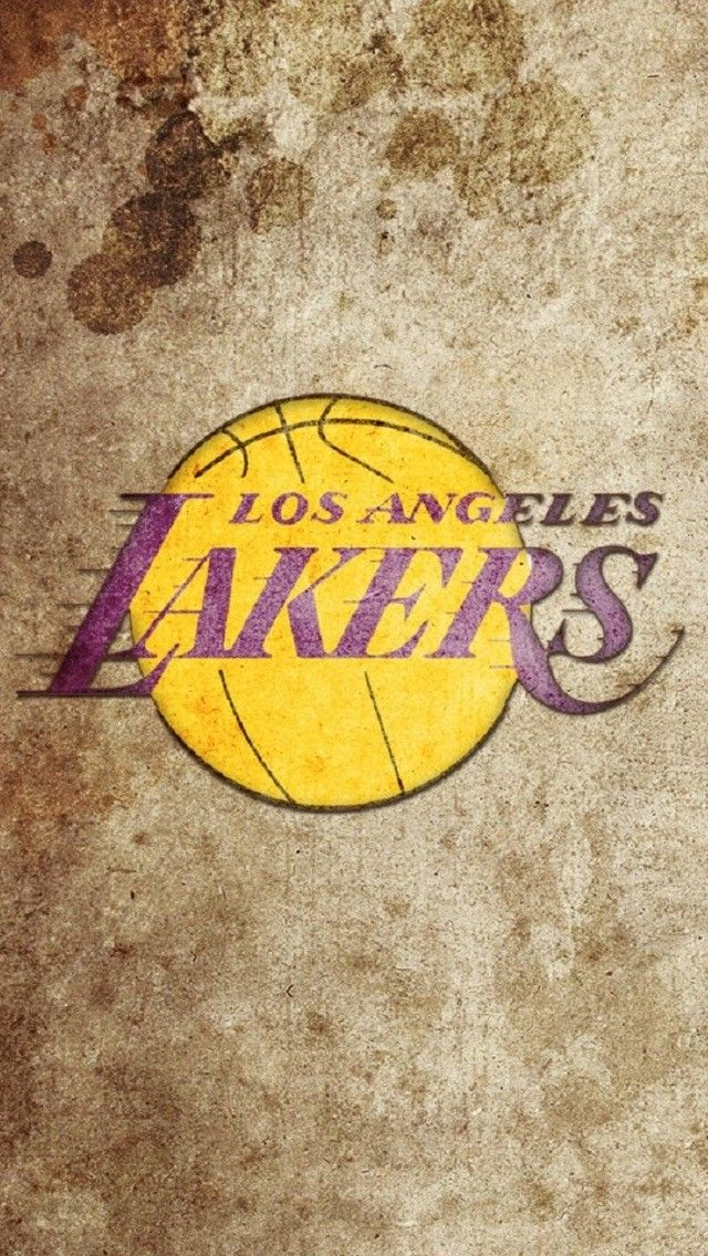 L A Lakers Iphone Wallpapers Mobile9 Grunge Lakers