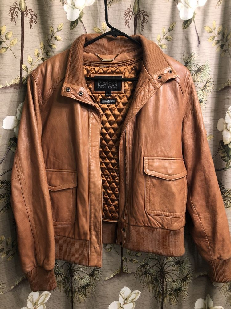 a18eabc8a Details about Wilsons Leather Pelle Studio Women's Jacket 100 ...