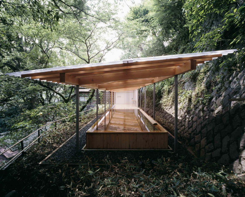 Kengo Kuma, Horai Onsen Bathhouse