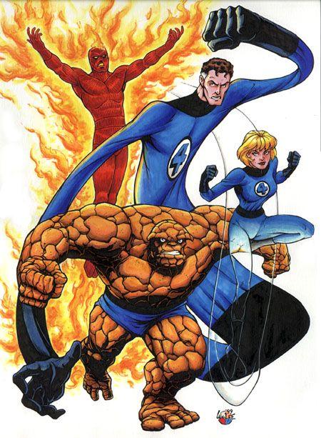 Fantastic Four Marvel Universe Wiki Fantastic Four Marvel Mister Fantastic Fantastic Four
