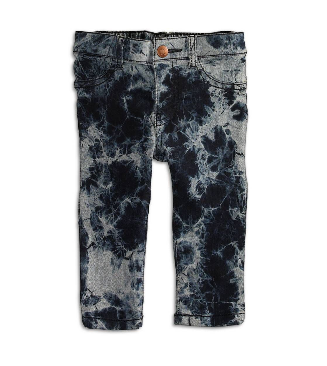 77 Girly Marbled Jegging in Faded Bleach Wash.