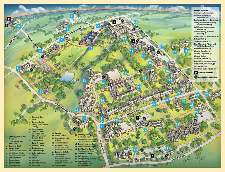 taft college campus map Campus Map Link To Bigger Version Below taft college campus map
