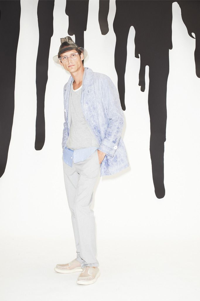 Band of Outsiders   Spring 2015 Menswear Collection   Style.com_color