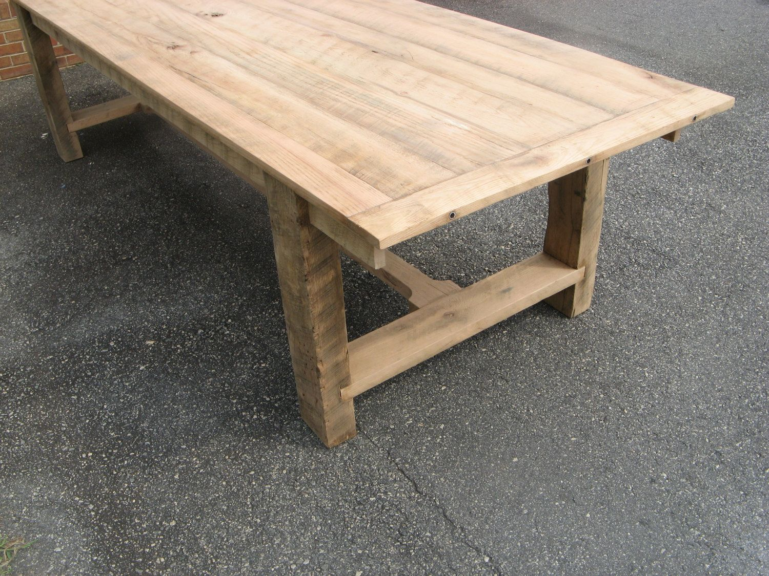 Attractive 3u0027x6u0027 Reclaimed Oak Dining Table By Toddmanring ...