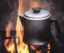 Campfire cooking, see the recipes