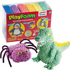 Playfoam Modelling Beads - not just for models.  Great for de-stressing and anger management.