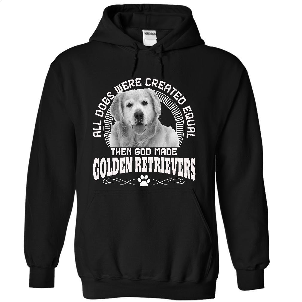 Then God Made GOLDEN RETRIEVERS Dogs T Shirt, Hoodie, Sweatshirts - t shirt printing #hoodie #fashion