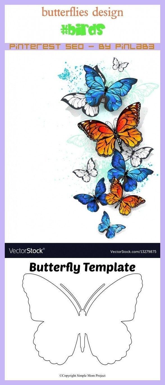 Photo of Schmetterlingsdesign #butterflies #design Schmetterlinge Design _ conception de …
