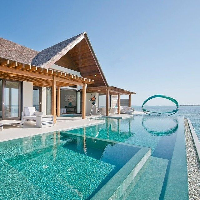 Just imagine the view from this water villa at Niyama #Maldives...