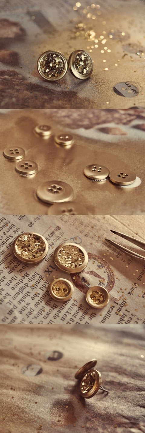 Do It Yourself Jewelry: Do It Yourself Corner: DIY Shiny Earrings