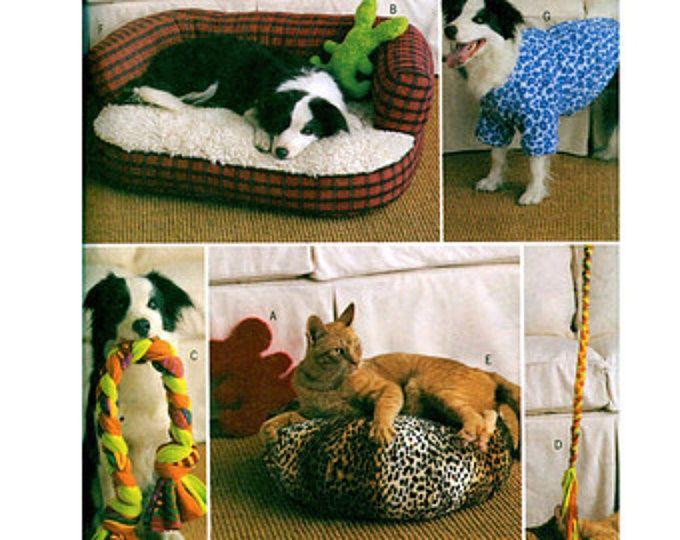 Hund & Katze Bett Muster Haustier Zubehör Hund Katze Nachläufer Bett ...