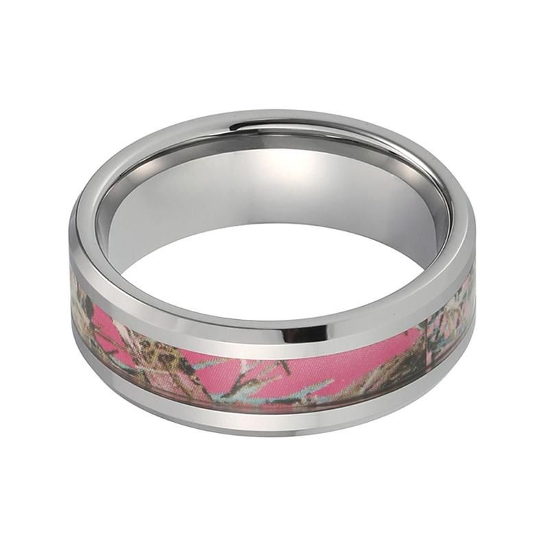 ring has ceramic latest black camo banded for whitebg cool pink ideas rings by wedding