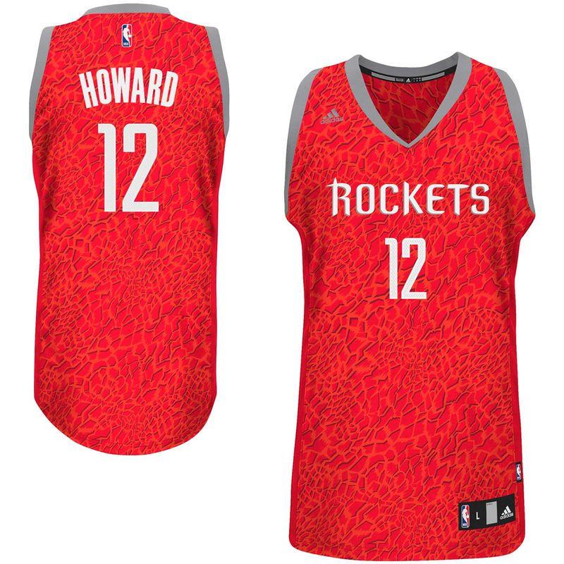adidas Dwight Howard Houston Rockets Crazy Light Swingman Jersey - Red