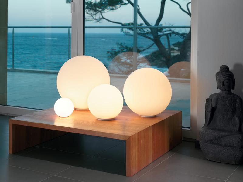 Dioscuri table lamp by Michele De