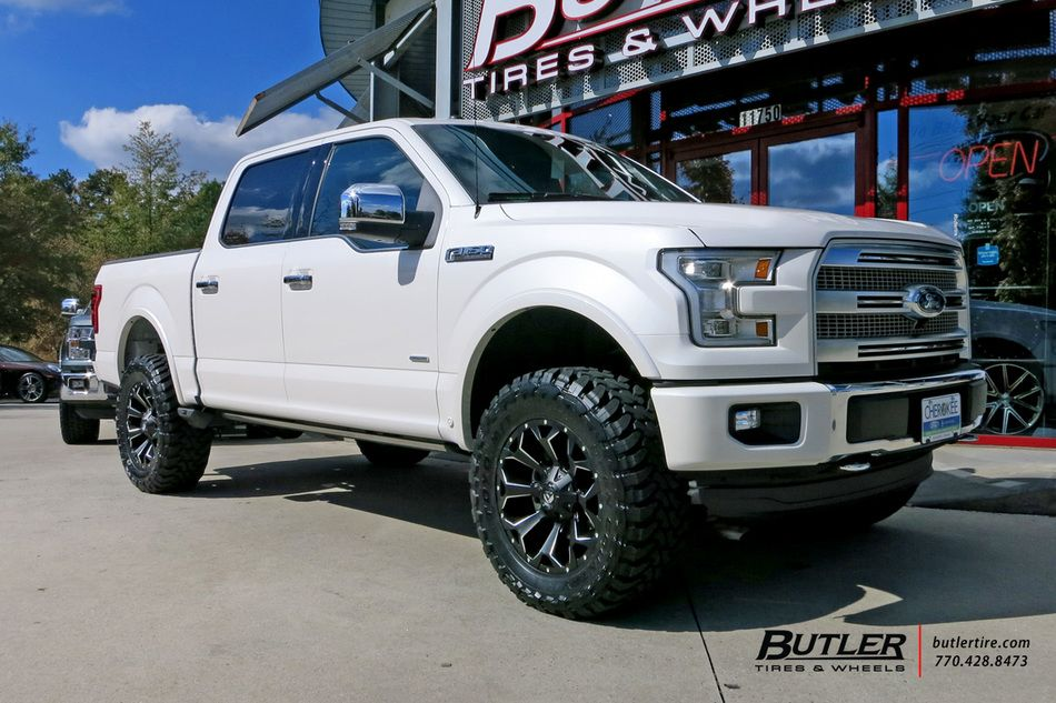 Ford F150 With 20in Fuel Assault Wheels By Butler Tires And Wheels In Atlanta Ga Ford Trucks Custom Trucks Ford Trucks F150