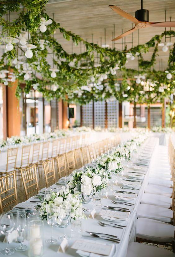 Garden Wedding Theme White And Green 3 Destination Wedding