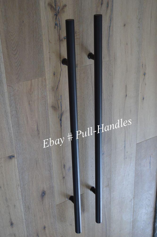 Details About Long Door Handle Ladder Pull Handle Entry Door Stainless Steel Matte Black Front