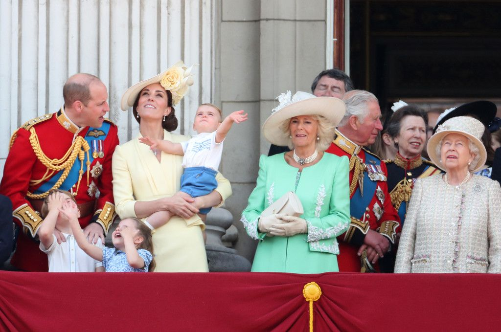 The Best Pictures Of The Royal Family From Trooping The Colour