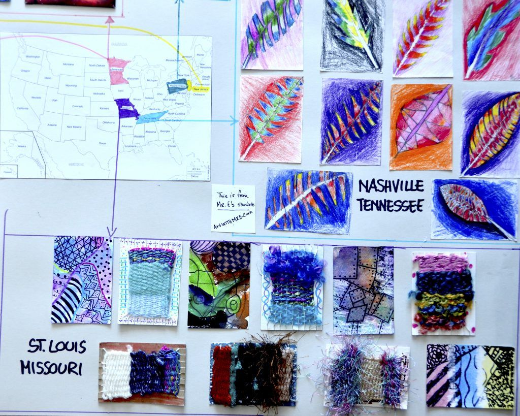 Artist Trading Cards Global Swap 2015 ARTS3e cycle – 8Th Grade Art Lesson Plans