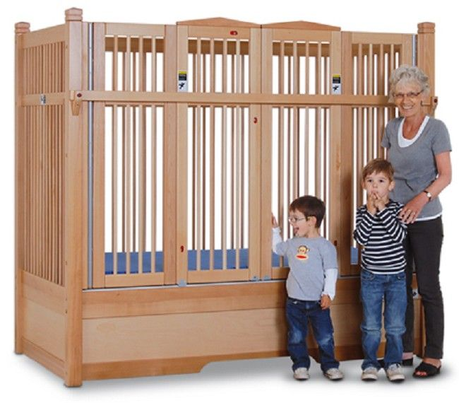 Kayserbetten Hannah Safety Bed With Extra Tall Railing Safety Bed Unique Doors Bed