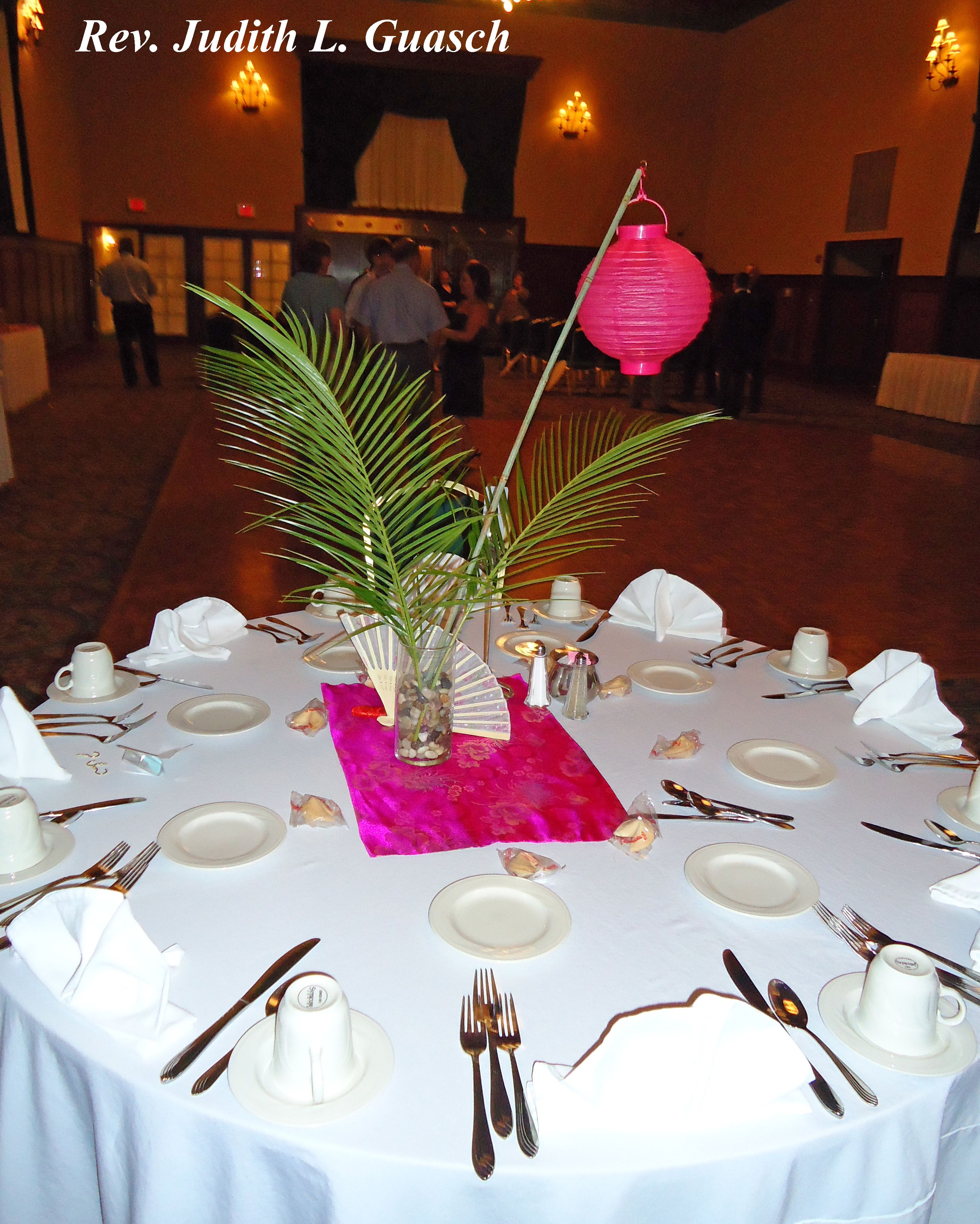Her asian inspired centerpieces wedding decor ideas