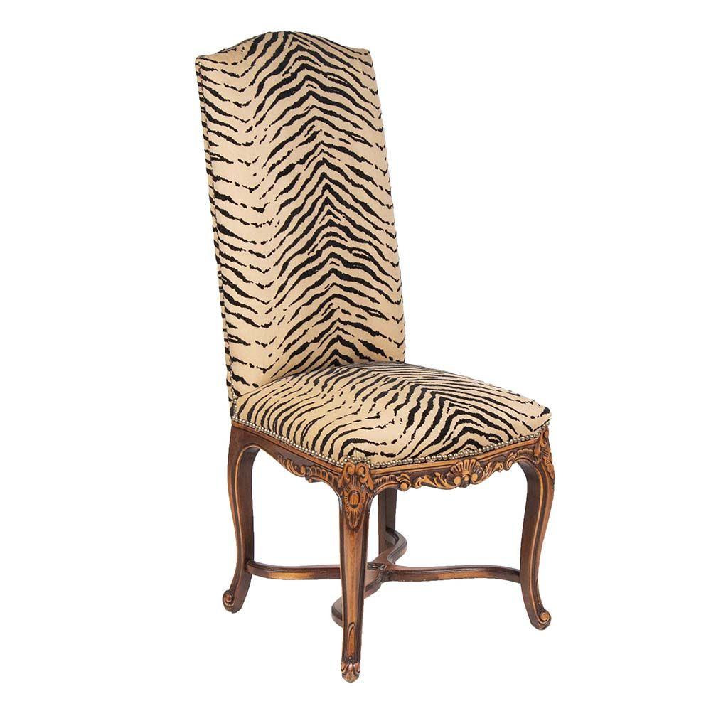 Fabulous Accent Chair Has A Tonal Carved Wood Base With Curved X Ncnpc Chair Design For Home Ncnpcorg