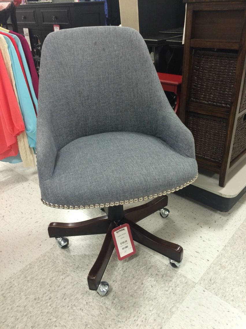 Want This For My At Home Office Chair  Gray, Silver Studs/rivers,