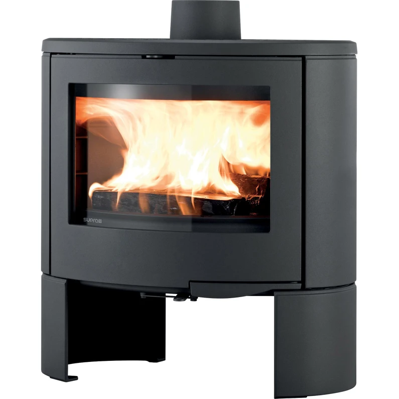 Poele A Bois Supra Persee Noir 10 Kw Leroy Merlin Wood Stove Home Appliances Stove