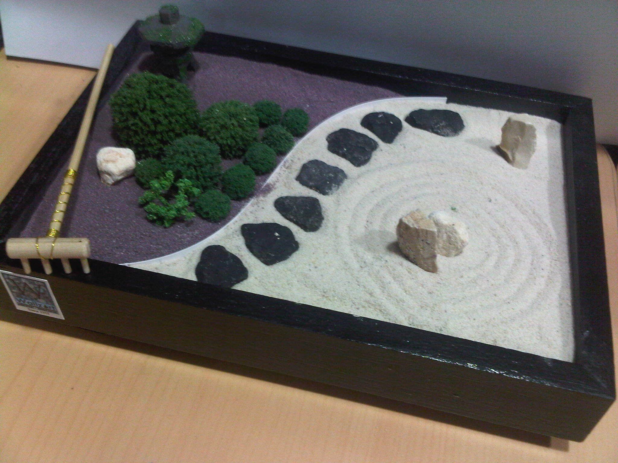 Miniature Sandbox Miniature Zen Garden Zen Rock Garden Mini Zen Garden
