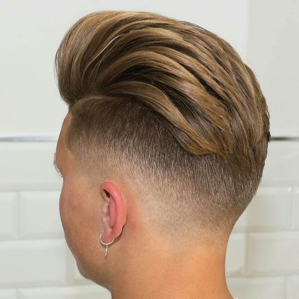 Blonde mens haircuts nice  powerful comb over fade hairstyles  comb on over