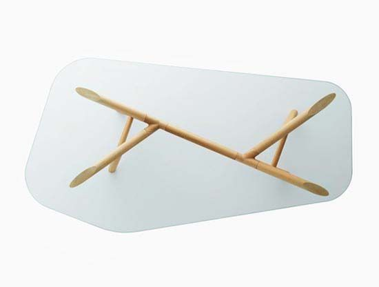 Otto Glass Top Table By Paolo Cappello 1 Glass Dining Room Furniture Glass Table Dining Table