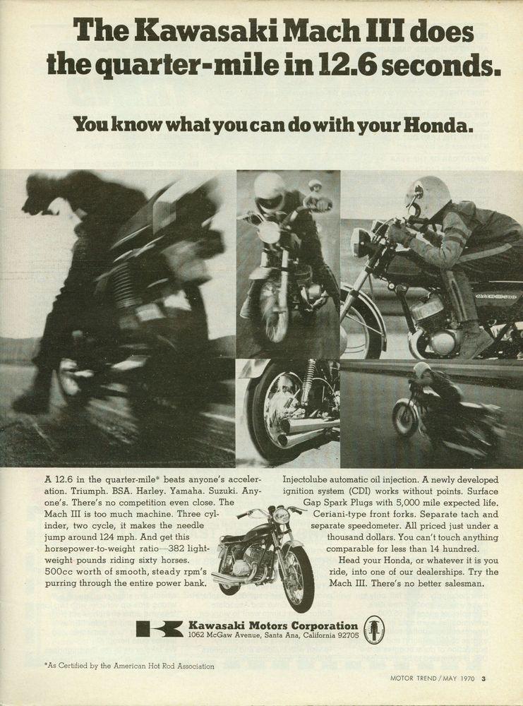 Kawasaki 500 Mach3 | motorcycle | Kawasaki bikes, Kawasaki