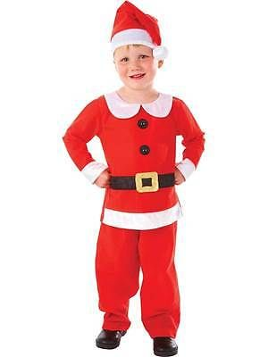 #Child kids boys mr christmas #santa claus fancy #dress costume u0026 hat xmas  sc 1 st  Pinterest : santa claus child costume  - Germanpascual.Com