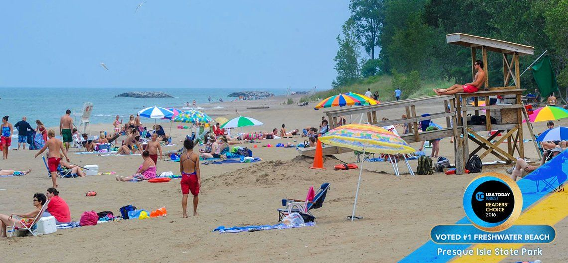 Usa Today 10 Best Reader S Choice 1 Freshwater Beach Presque Isle State Park Erie Pa