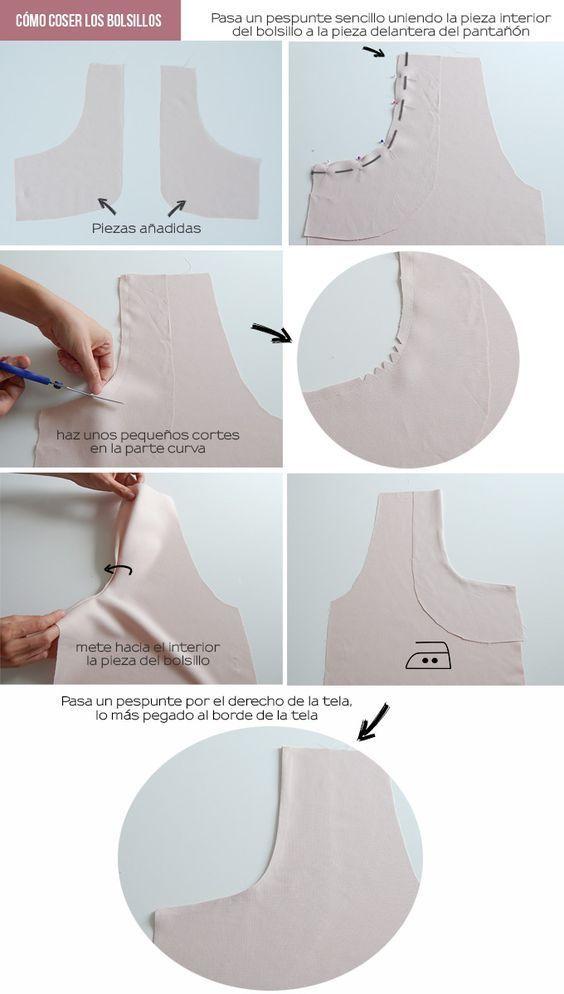 coser-bolsillos-pantalon-corto-diy #schnittmusterzumkleidernähen
