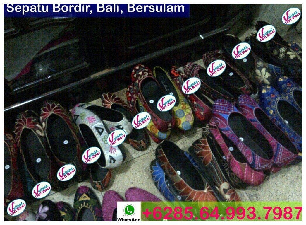 Sepatu Bordir Murah Kasut Wanita Grosir Sepatu Murah 62 8564