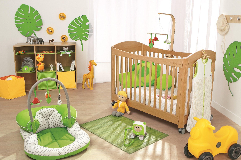 Aménager une chambre de bébé, tendance jungle #Wesco  Chambre